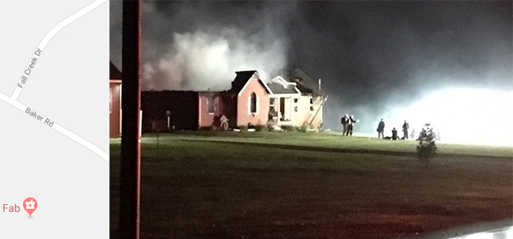 Blackman Area Fire Destroys Home