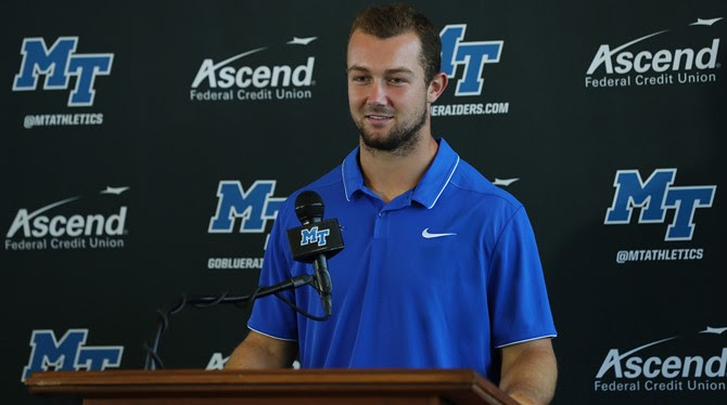 MT FB Press Conference before CUSA Championship Game