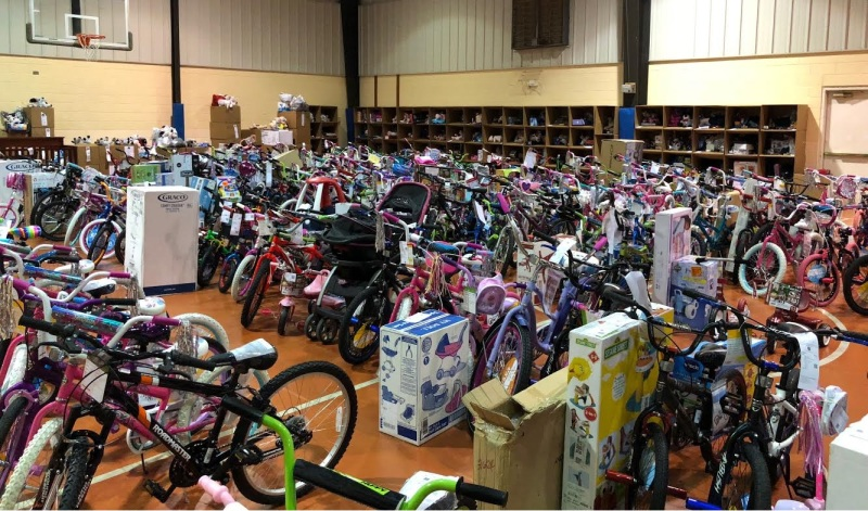 Salvation Army Angel Tree Gifts Distributed