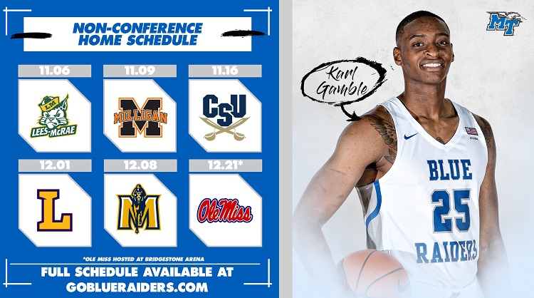 McDevitt announces first non-conference schedule