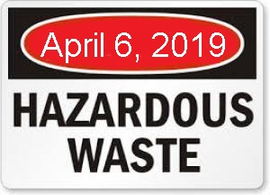Hazardous Waste Collection In Two-Weeks