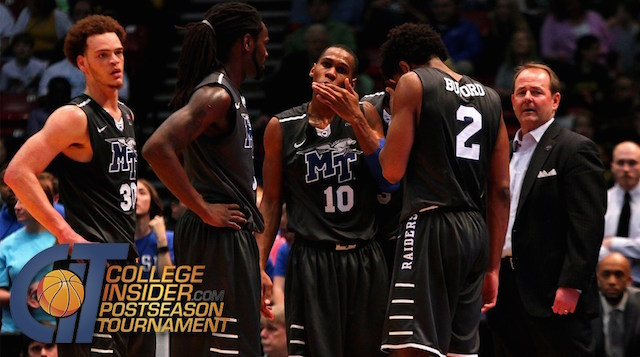 MT Men to Host Kent State in CIT