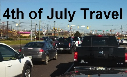 AAA Says 4th of July Travel Will Brake Records!