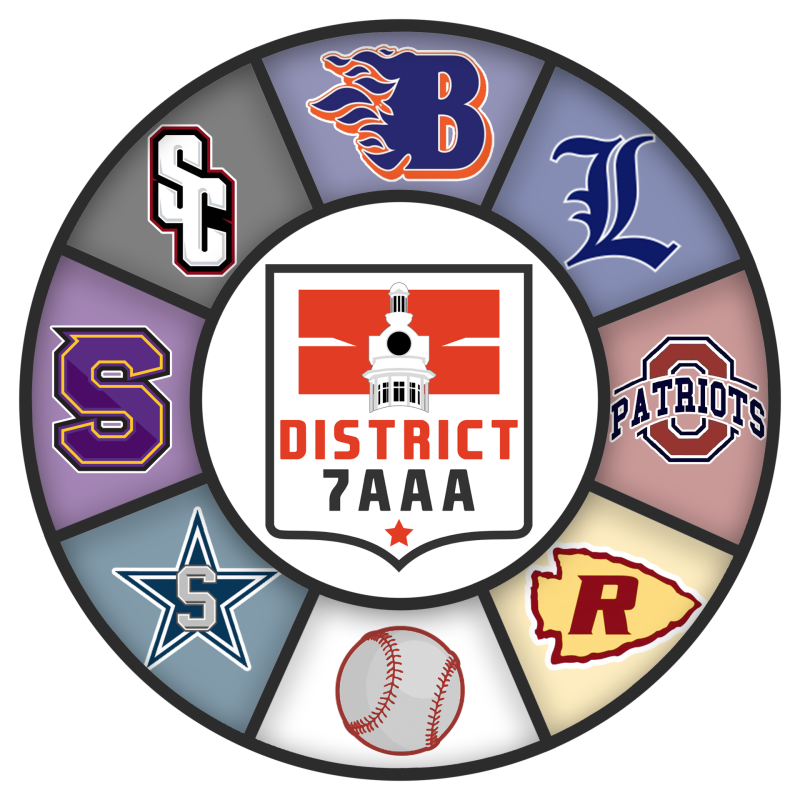District 7AAA Baseball & Softball Tournament Brackets