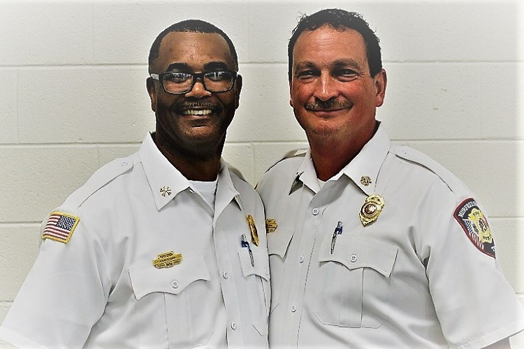Murfreesboro Fire Asst. Chief Allen Swader Retires