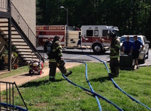 MFRD Responds to Fire at Altitude Apartments on Bradyville Pike
