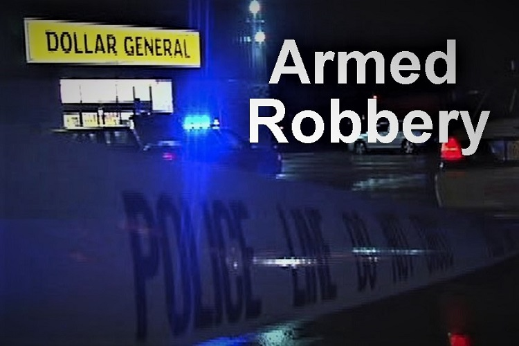 Armed Robbery Saturday Night At Dollar General