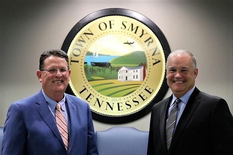 Rex Gaither and Todd Spearman First Smyrna Assistant Town Managers
