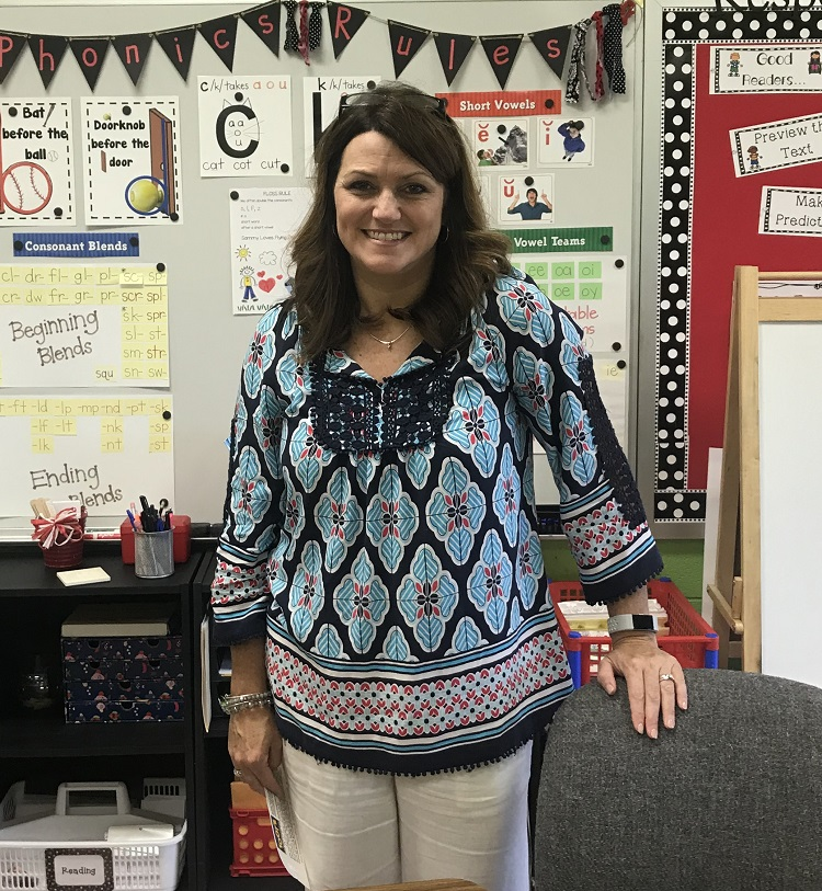 Lascassas Elementary interventionist Ashley Cates | Educator of the Month, Ashley Cates, Lascassas Elementary School, Rutherford County Schools, Murfreesboro City Schools