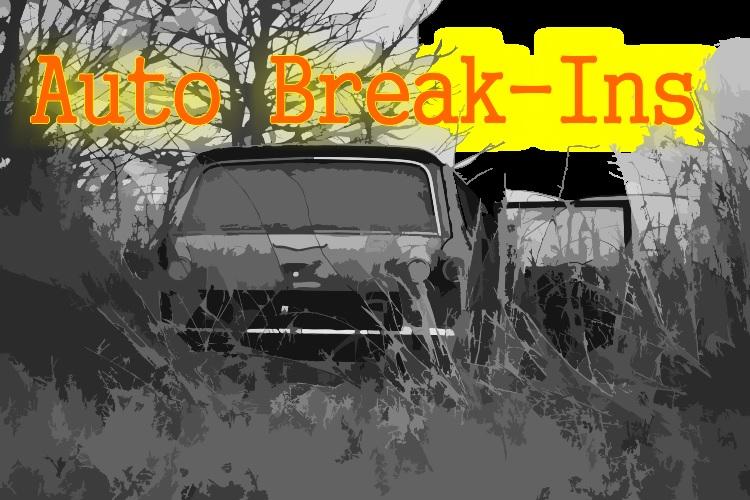 Rash of Vehicle Break-In's in Murfreesboro