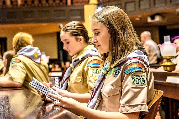 16 Local Girls Officially In Scouts BSA