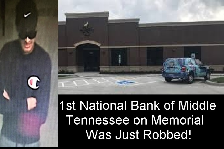 Bank Robbery---BOLO For This Man