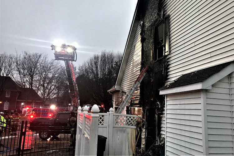 Banner Drive House Fire Sunday Morning