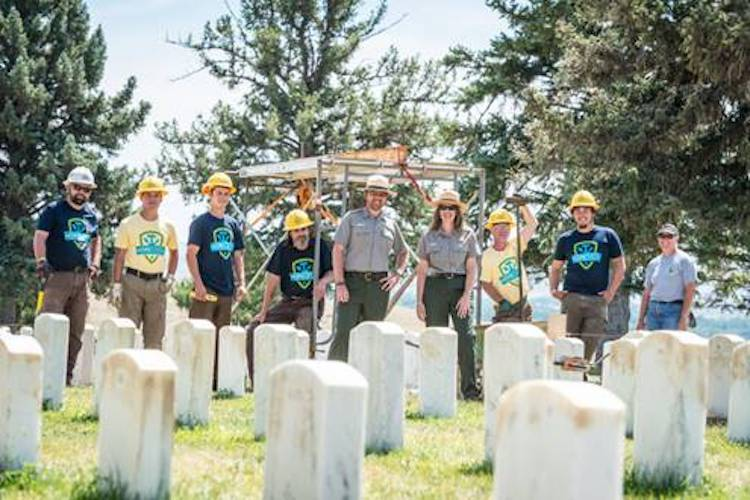 Volunteers Needed for Headstone Cleaning at Local National Battlefield
