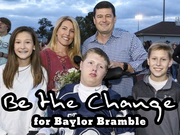 Be the Change for Baylor Bramble