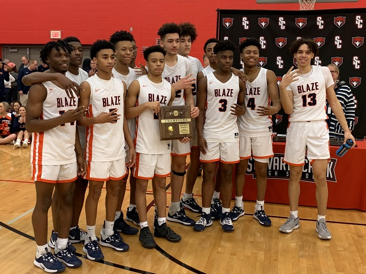 Blackman Boys Take District Hoops Championship