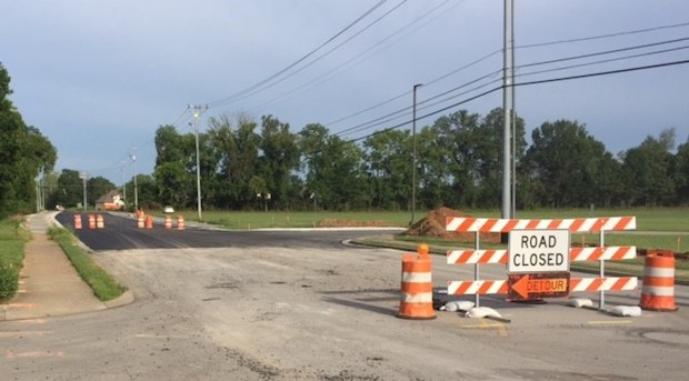 Blaze Drive improvements near Blackman H.S. ready for start of new year