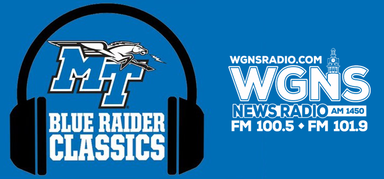 WGNS to Air Blue Raider Classic Games