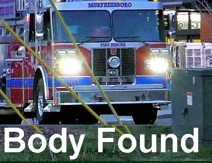 Deceased Woman Found By Fireman In Her Car | Brittney Rigsby, deceased, parking lot, Kroger's, 2243 Veterans Parkway, body found by firefighters, Murfreesboro, WGNS