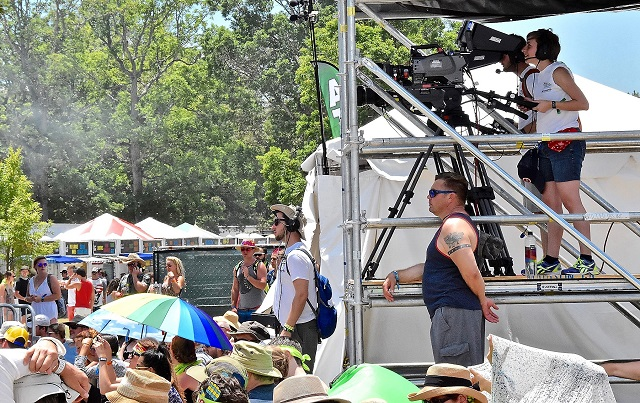Bonnaroo Was Great For MTSU Multi-Media Students
