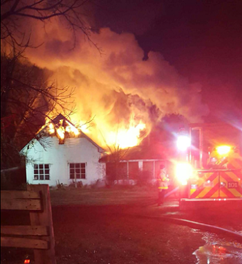 Bradyville Pike Home Destroyed by Fire