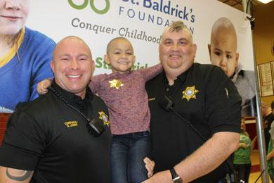 St. Baldrick's Day at Riverdale High School Friday