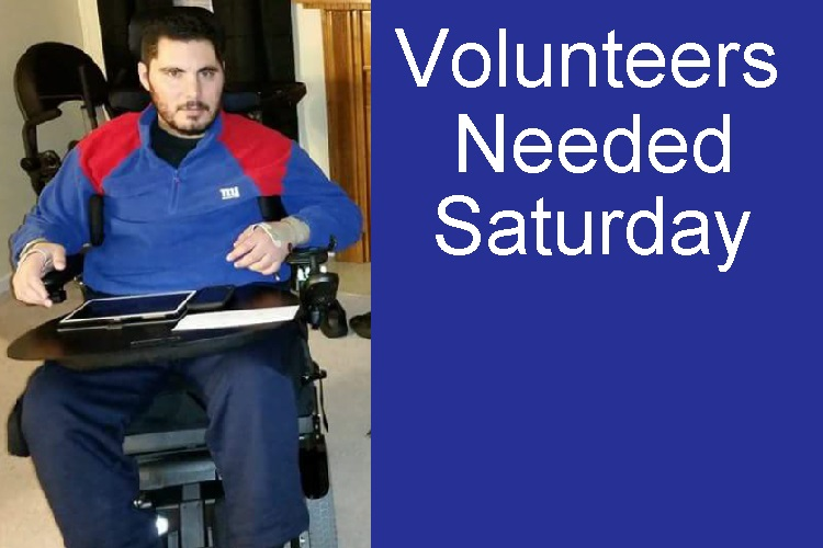 Volunteers Needed This Saturday To Help Soldier