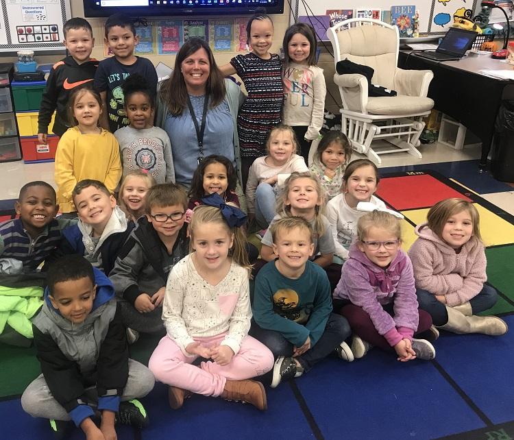 buffy brasier a kindergarten teacher at overall creek elementary