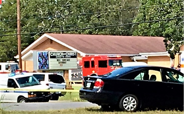 1 Dead, 7 Iinjured at Church Shooting