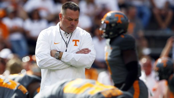 Butch Jones Out at Tennessee