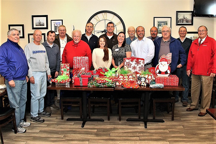 SECRET SANTAS Visit Child Advocacy Center