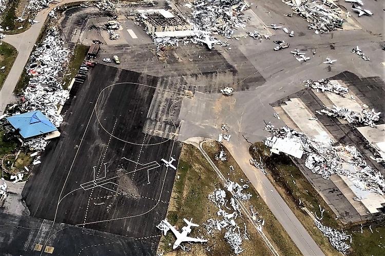 CAP Surveys Tennessee's Tornado Damage