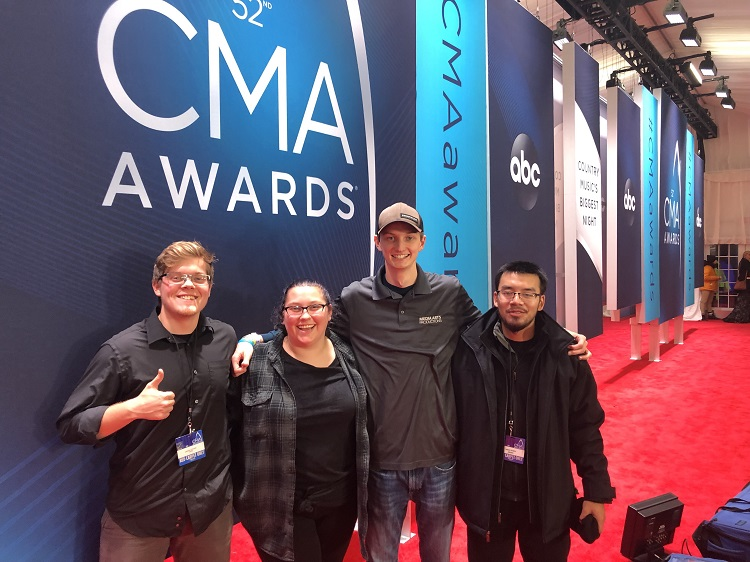 MTSU students get up-close view of CMA Awards