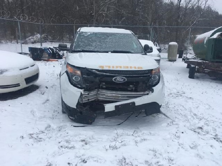 Hundreds in Cannon Co. without Heat After Deputy Wrecks