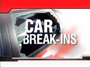 Rash of Car Burglaries in Halls Hill Area