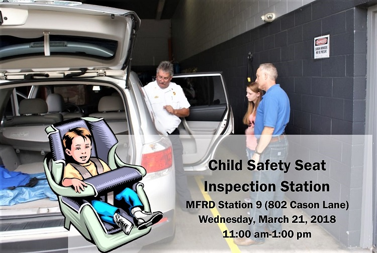 The Murfreesboro Fire And Rescue Department Is Offering A Free Child Safety Seat Installation Check On Wednesday It Will Be From 1100 Oclock That Morning