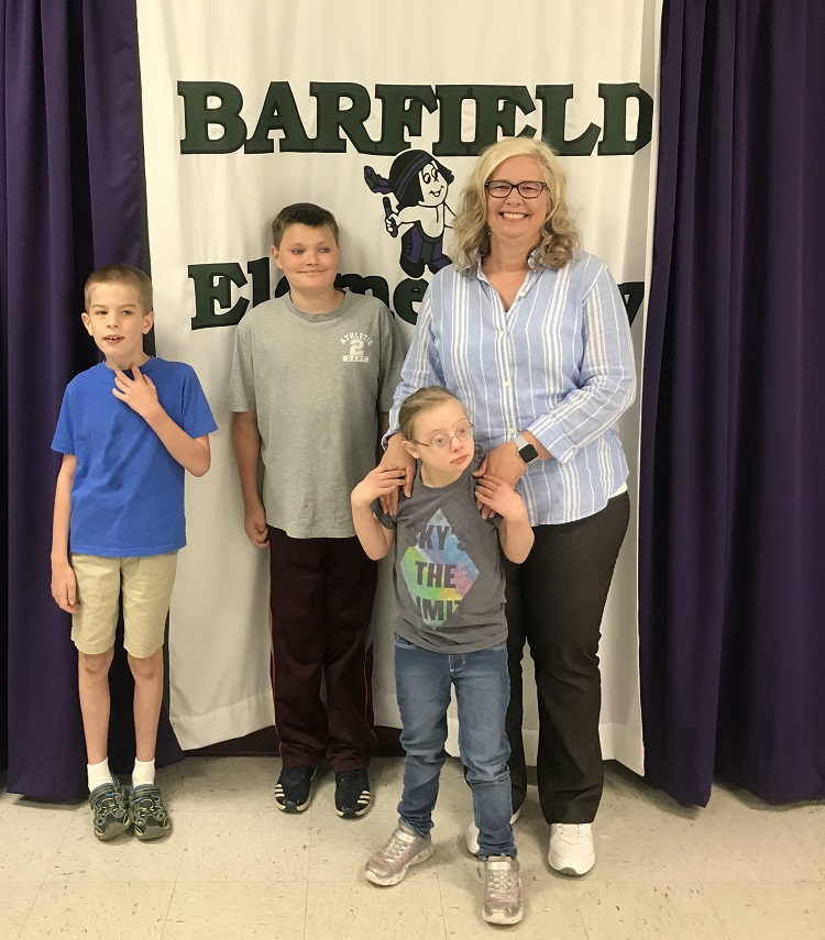 Cari Parr, Special Education Teacher at Barfield Elementary