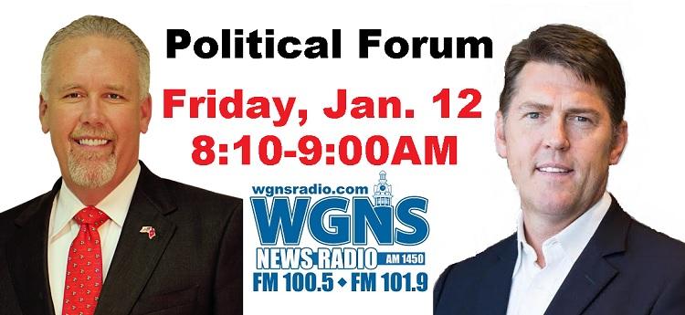 State Senate POLITICAL FORUM On WGNS