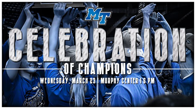 MTSU: Celebration of Champions set for Wednesday