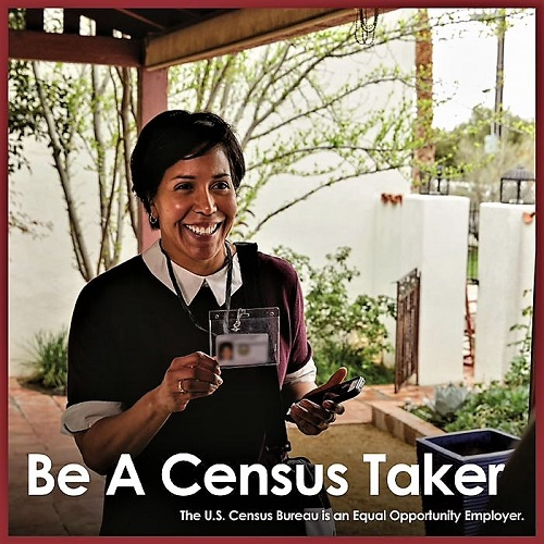 Census Takers Needed:  Pay $21/hr.