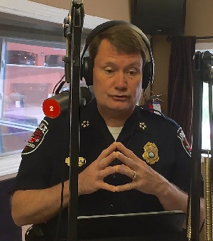 MPD Chief Chrisman Is Grand Marshal of 2:00PM Parade