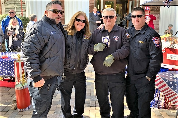 The Rutherford County Fire Rescue team's entry won the Chili Cookoff at the Rutherford County Courthouse on the square Friday.