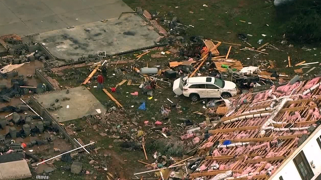 NWS: Deadly EF-2 Tornado in Christiana