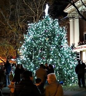 Christmas Tree Lighting On Murfreesboro Square