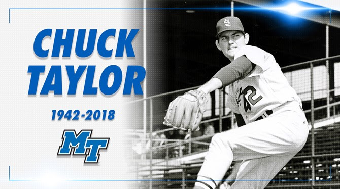 Blue Raider baseball great Taylor passes away