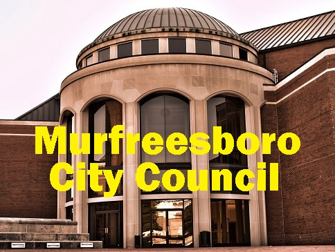 Murfreesboro City Council: Jones Blvd. and Cherry Ln.