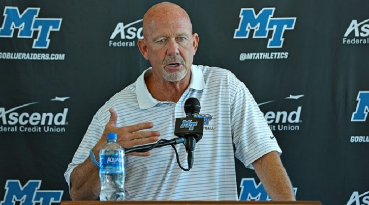 Coach Stockstill Press Conference for Vanderbilt Game