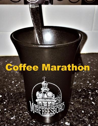 Coffee Marathon (50-mile run over 4-months)