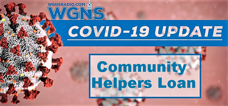 COMMUNITY HELPERS with COVID-19 Loans