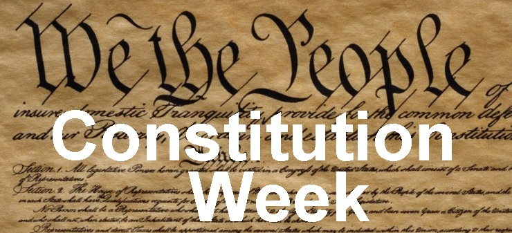 Constitution Week: September 17-23, 2018